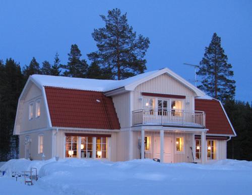 Energihushållning - villa på vintern